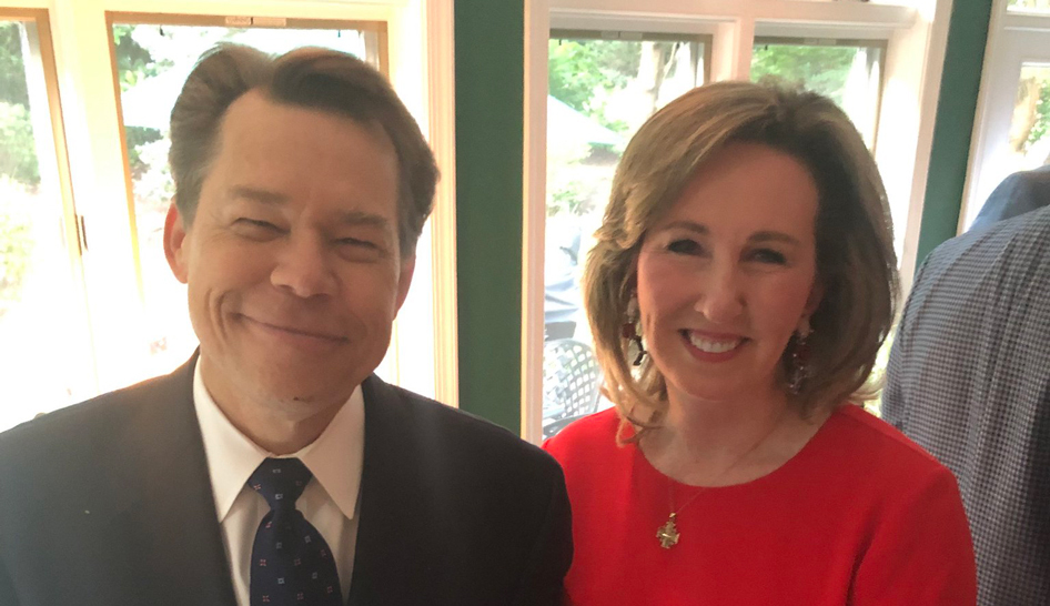 David K Rehr Ph D with former Member of Congress Barbara Comstock column width