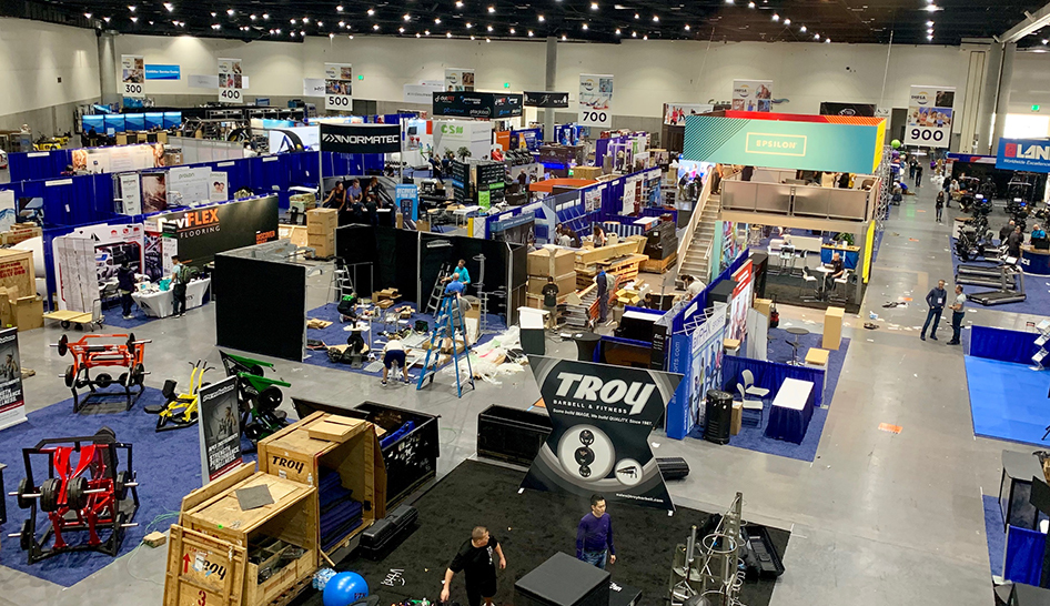Industry News 19Cv Trade Show From Above Column