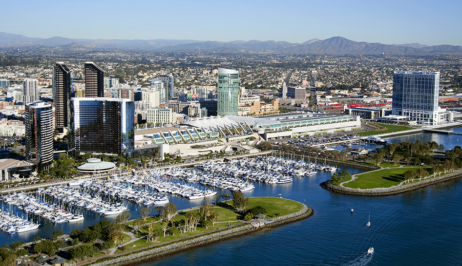 Industry News San Diego Wide Shot Column View