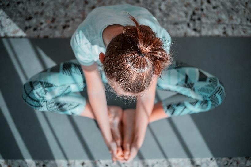 JWB report woman yoga unsplash column