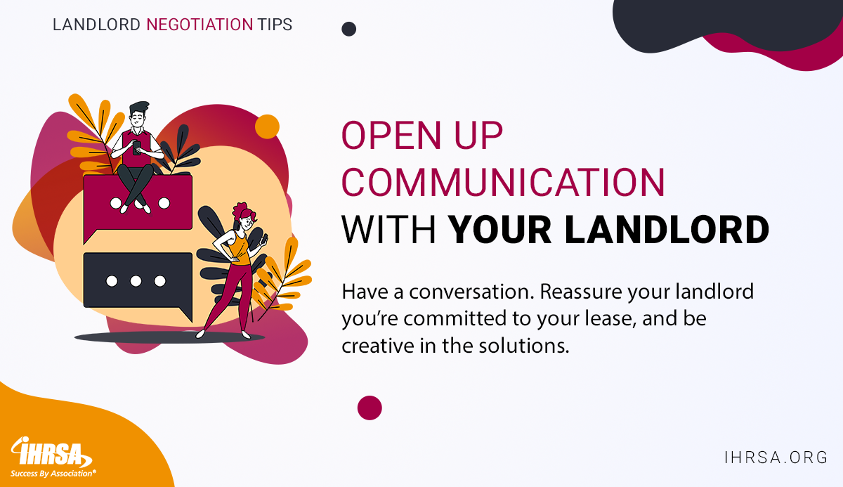 Negotiating with Your Landlord Tip 2 Open Comm