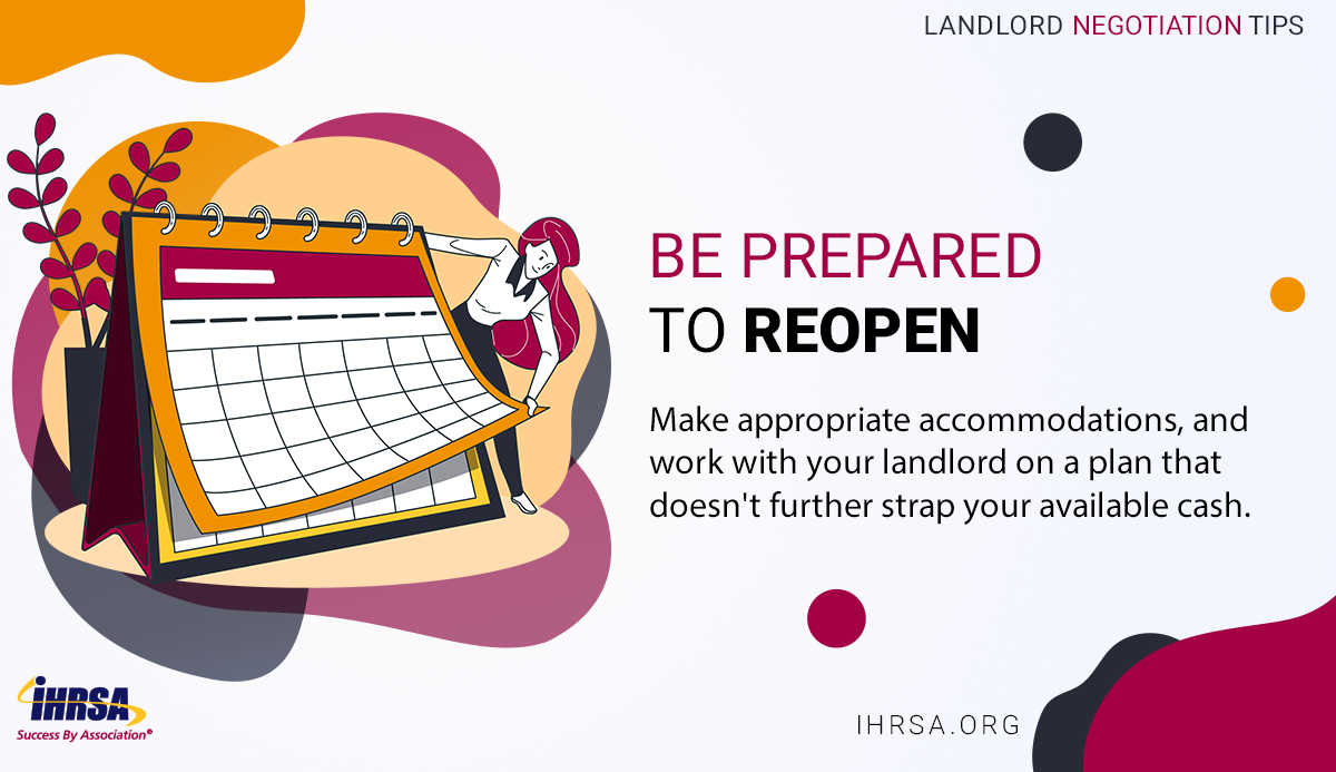 Negotiating with Your Landlord Tip 4 Reopen