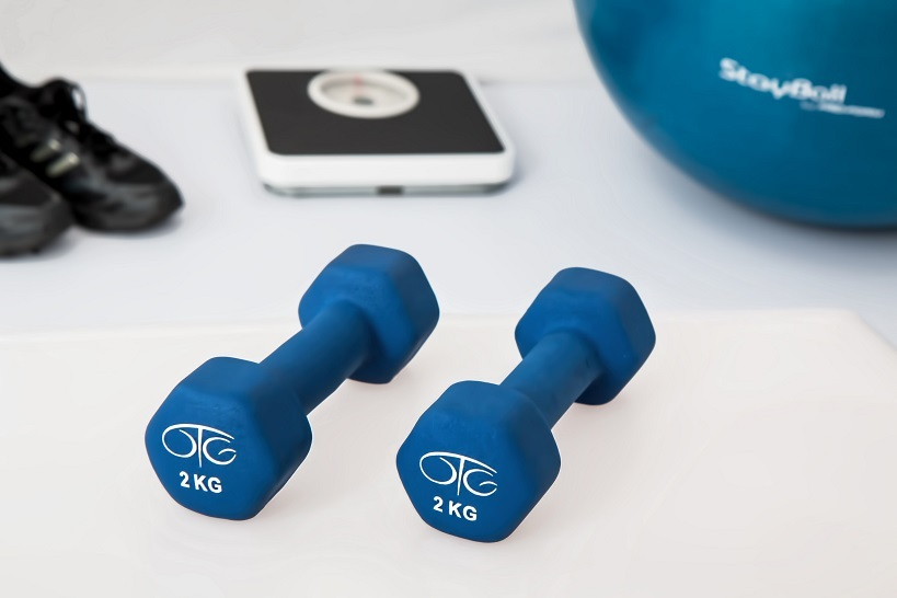Talks Takes weights exercise pexels column