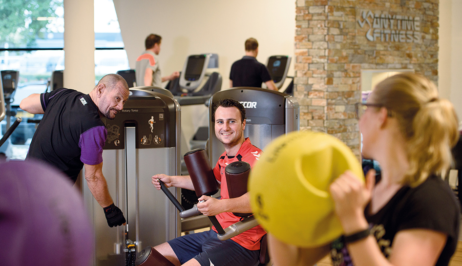 Technology Anytime Fitness Benelux Members Column