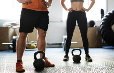 FP fitness training with kettlebells column width