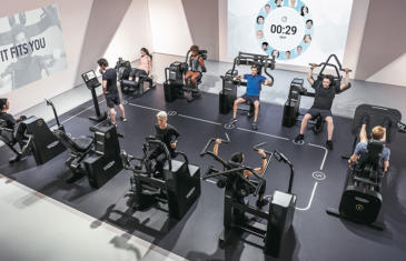 Fitness Programming Technogym Biocircuit column