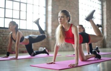 Industry News Medical Experts women yoga unsplash column