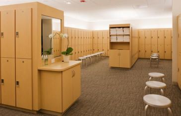 Legal Active Sports Clubs Locker Room
