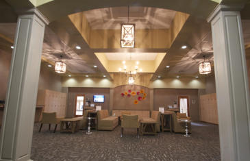 Strategy Cincinnati Sports Club Member Lounge Column