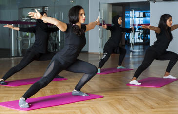Strategy Leejam Ladies Yoga Class Column View