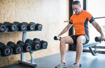 Equipment Free Weights Column