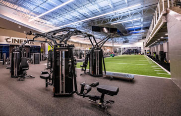 Facilities Catalyst Fitness TRUE equipment column