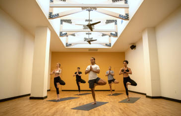 Facilities Chelsea Piers Brooklyn Yoga Studio Column