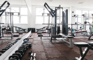 Facilities empty gym freepik stock column