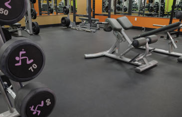 Facilities Regupol Anytime Fitness Column
