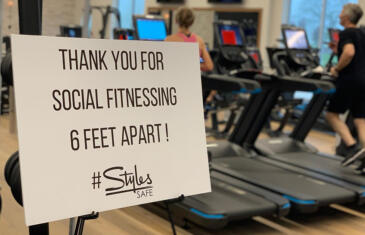 Facilities styles studio fitness facebook post column