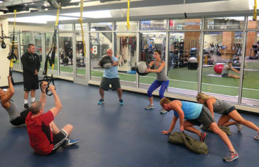 Personal Training Small Group Chelsea Piers Column
