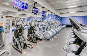 Strategy and finance cardio equipment at Bobs Gym column