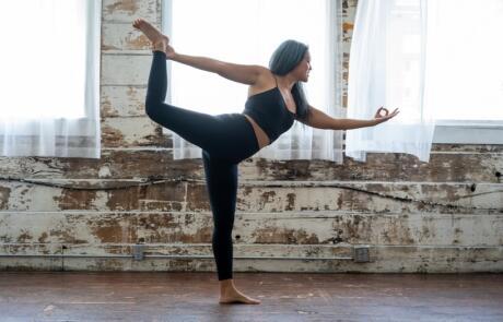 Leadership Woman Yoga Unsplash Column