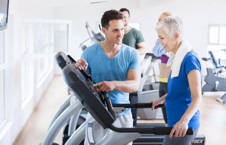 Member Retention Older Woman Personal Training Column