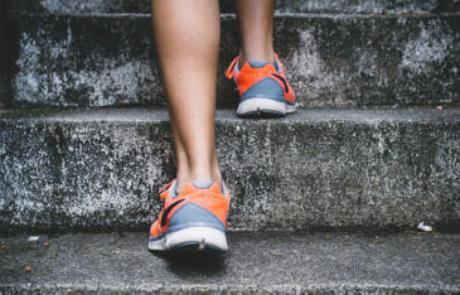 Member Retention Sneakers Steps Column