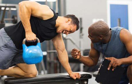 Personal Training Kettle Bell Column