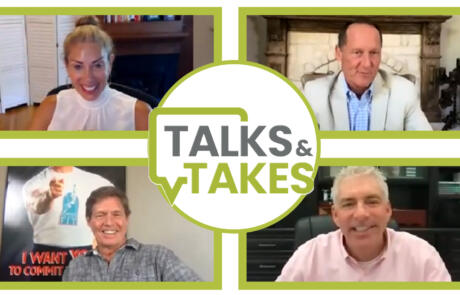 Talks and Takes Thumbnail August