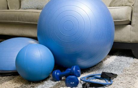Fitness programming home fitness stock column