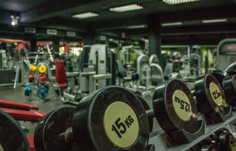 Industry news empty gym dumbbells Unsplash stock column