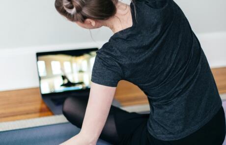 Talks takes home workout woman yoga pexels column