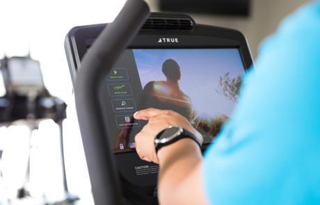 Technology TRUE Fitness Compass column