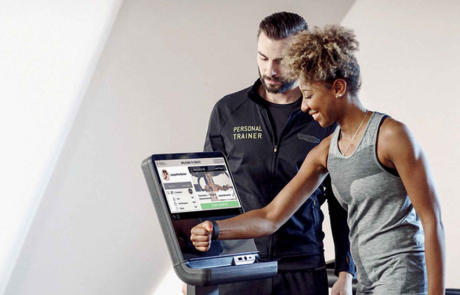 Technology Technogym biocircuit column