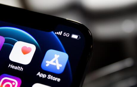Technology smartphone apps Unsplash stock column