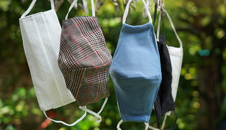 Equipment cloth mask stock Unsplash column