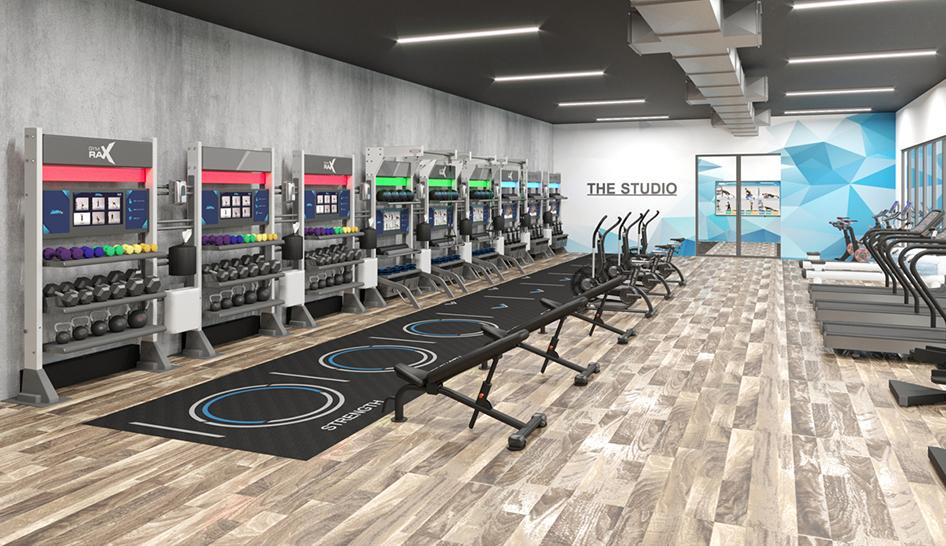 Facilities Aktiv Studio Health Club Design 3 column