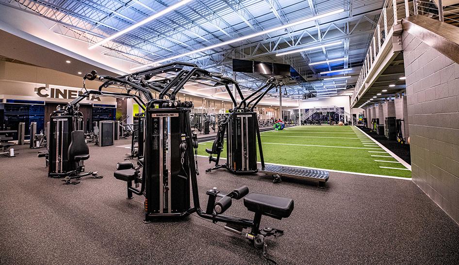 Facilities Catalyst Fitness TRUE equipment column