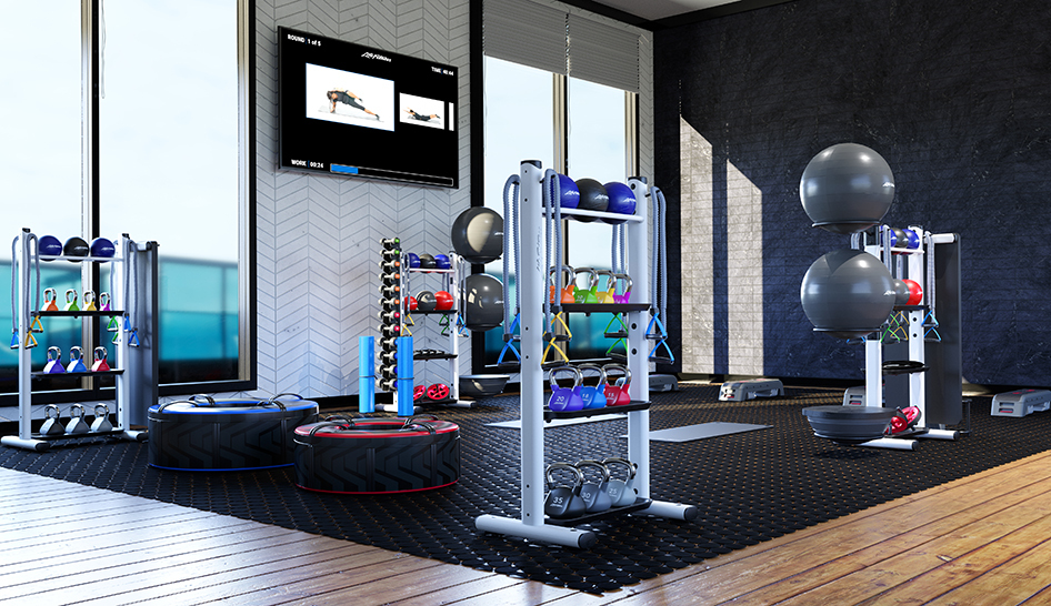 Facilities Life Fitness Invigorate column