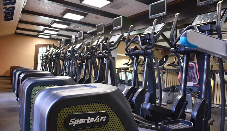 Facilities Sports Art Fitness Install 2 limited use column