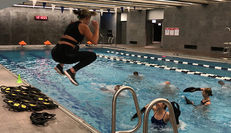 Fitness Programming H2O Hiit Midtown Athletic Club Column