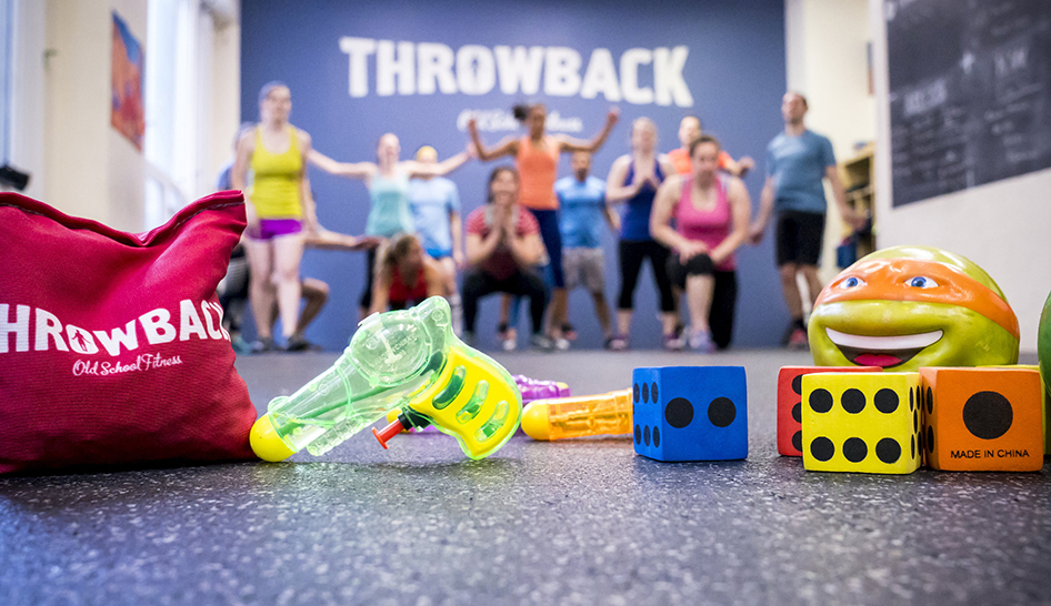 Fitness Programming Throwback Toys Props Column
