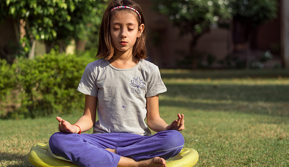 Fitness Programming Child Yoga Outdoors Column