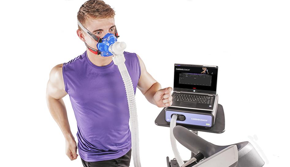 Sales and marketing KORR technology treadmill man column