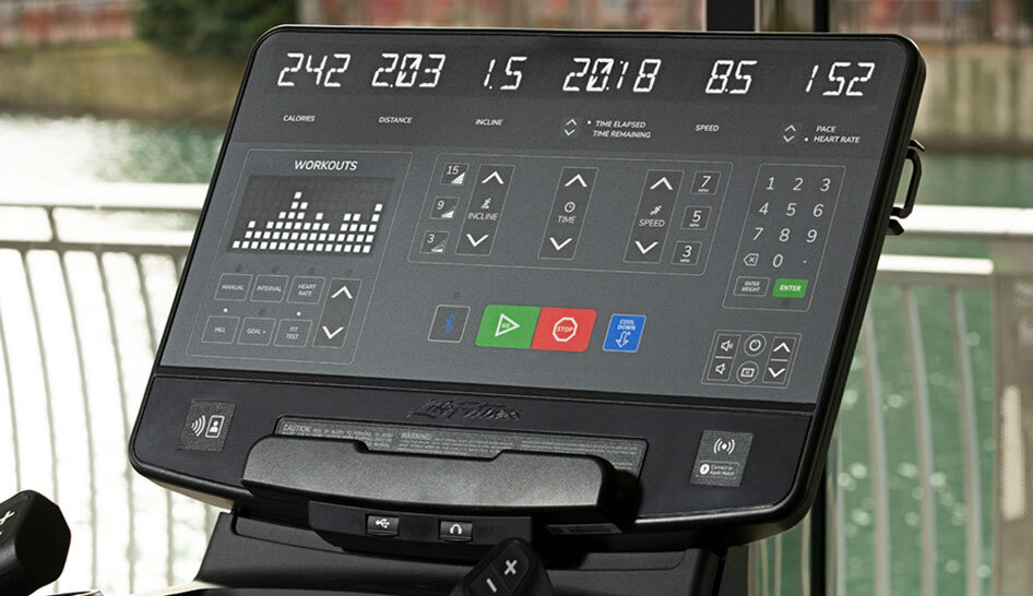 Supplier content treadmill console limited use column