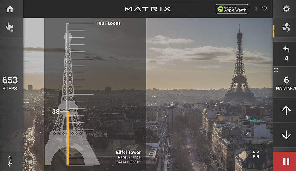 Technology Matrix Landmarks column