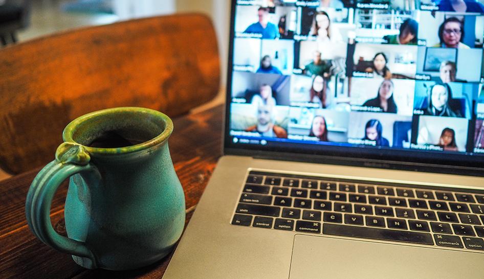 Technology virtual meeting laptop Unsplash stock column