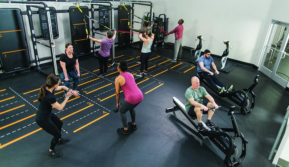 Wellness and community programming MX4 ACTIVE Matrix limited use column