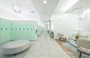 Facilities Cooper Aerobics Locker Room