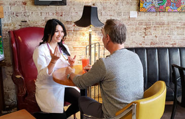 Health Professional Talking to Small Business Owner listing image