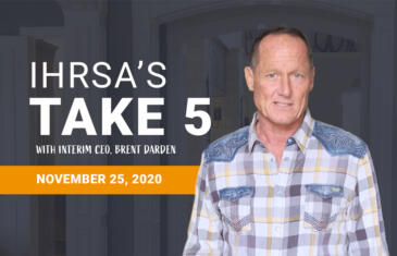 Take 5 Nov 25 ihrsa org