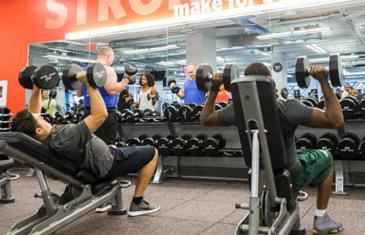 Equipment Iron Grip Weight Room